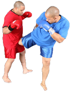 Muai Thai Right Kick