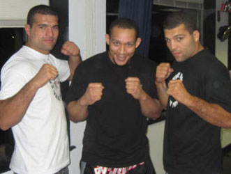 Training with Ninja and Shogun Rua